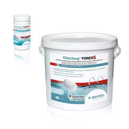 Poolpflege Chlorilong® Chlortabletten Power5